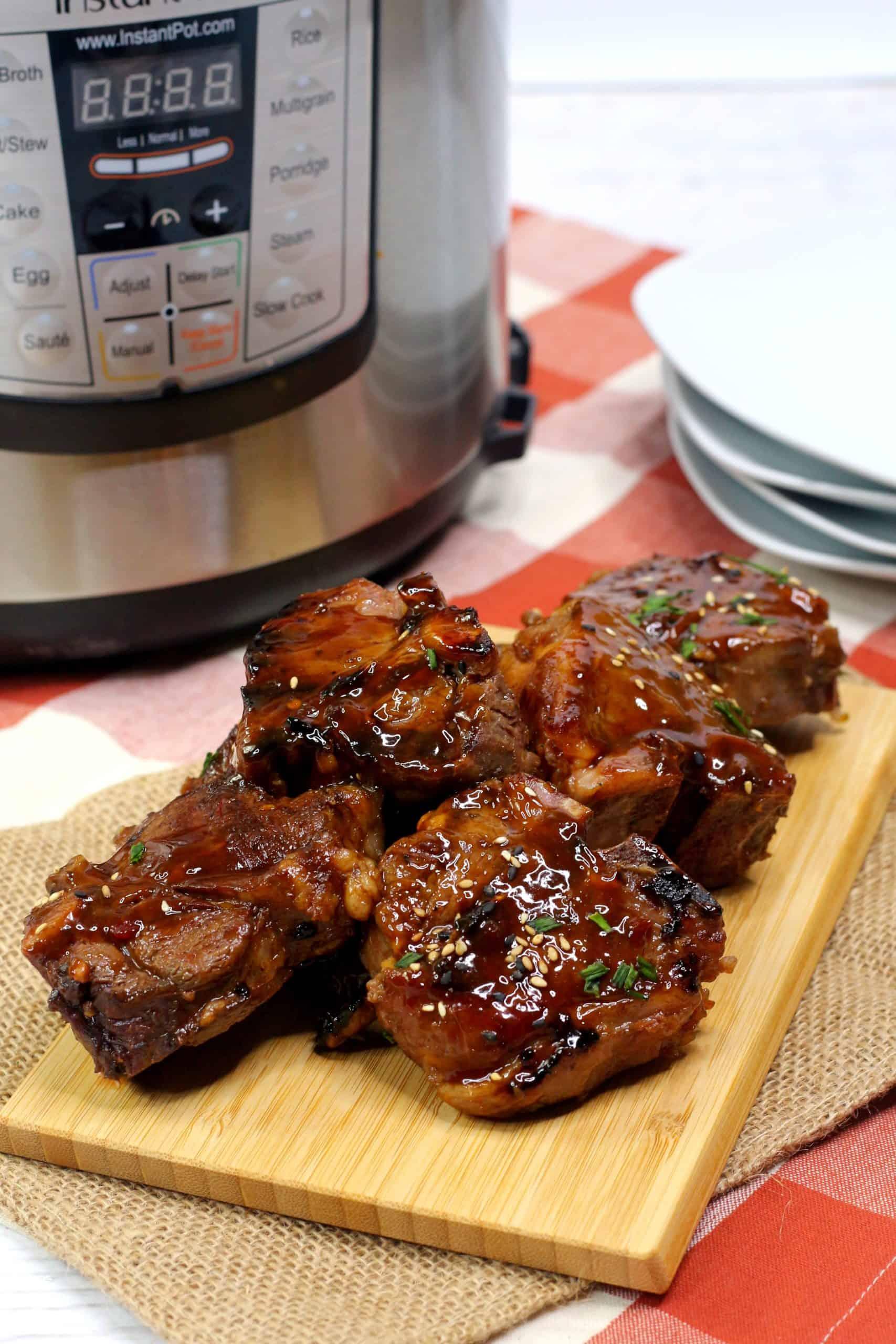 lamb chop recipe pressure cooker Delicious Instant Pot Lamb Chops