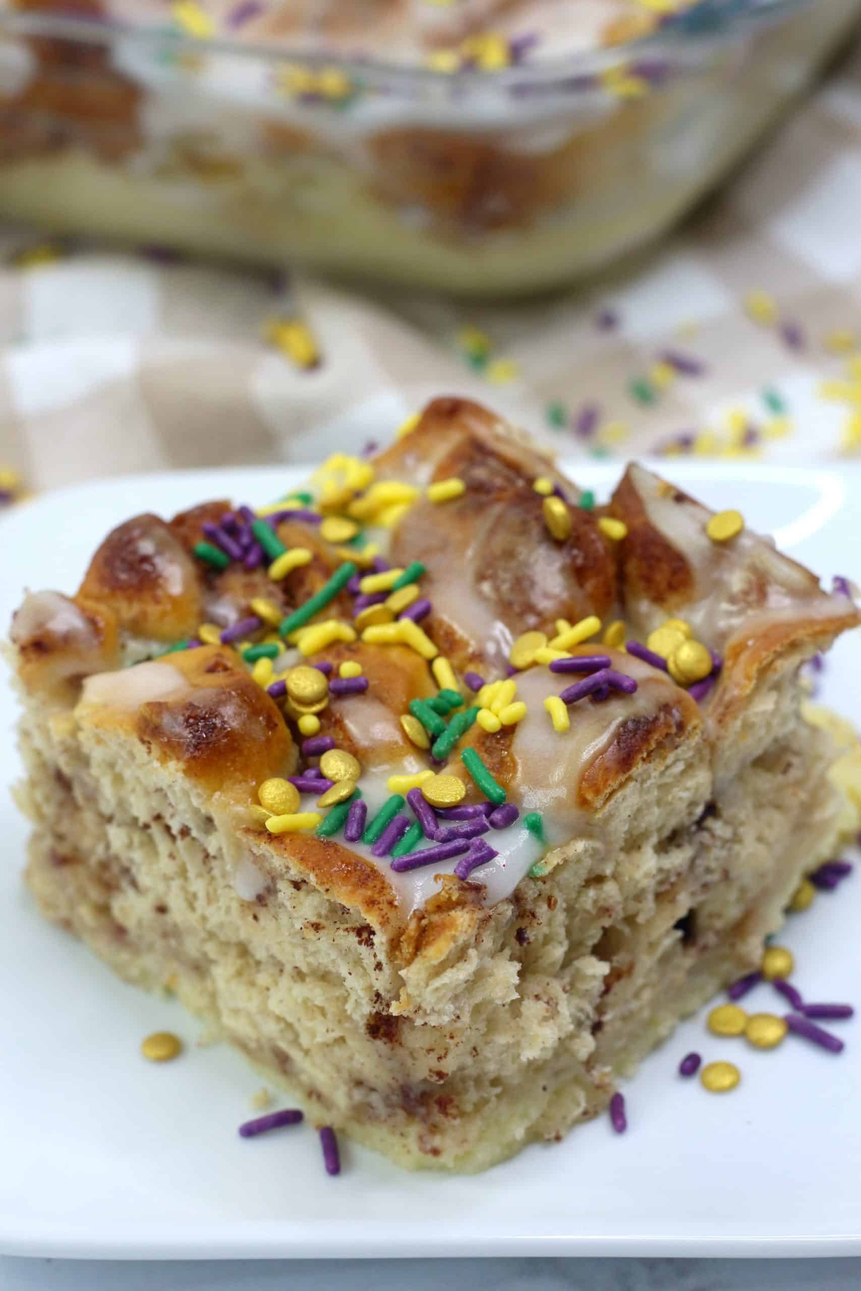 Easy Bubble Up King Cake Recipe