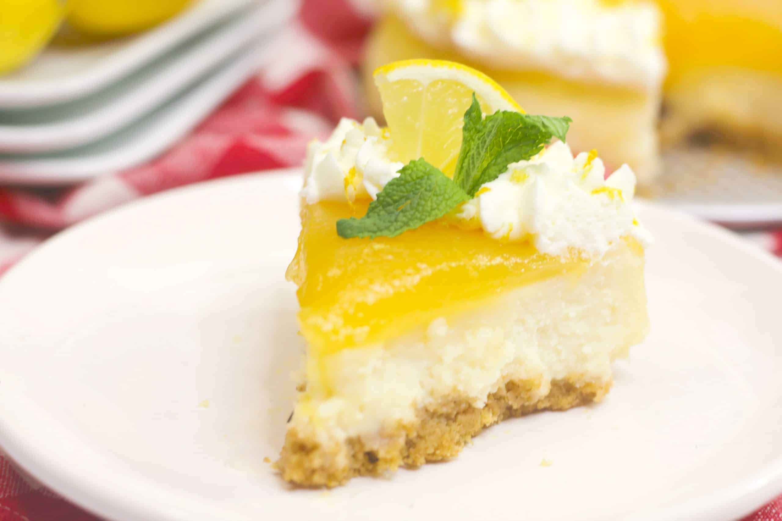 Instant Pot Lemon Cheesecake Recipe