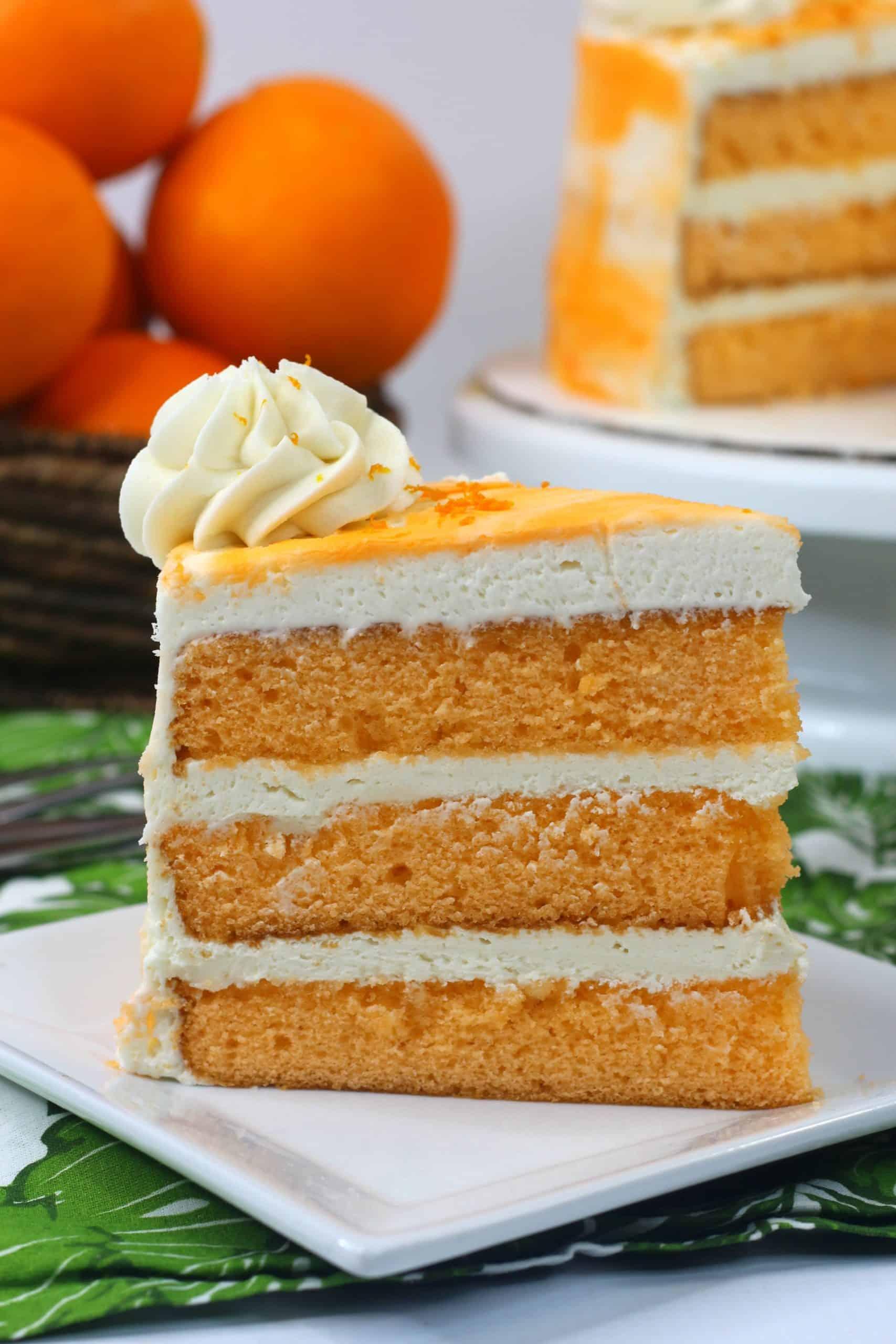 Old Fashioned Orange Cake Recipe