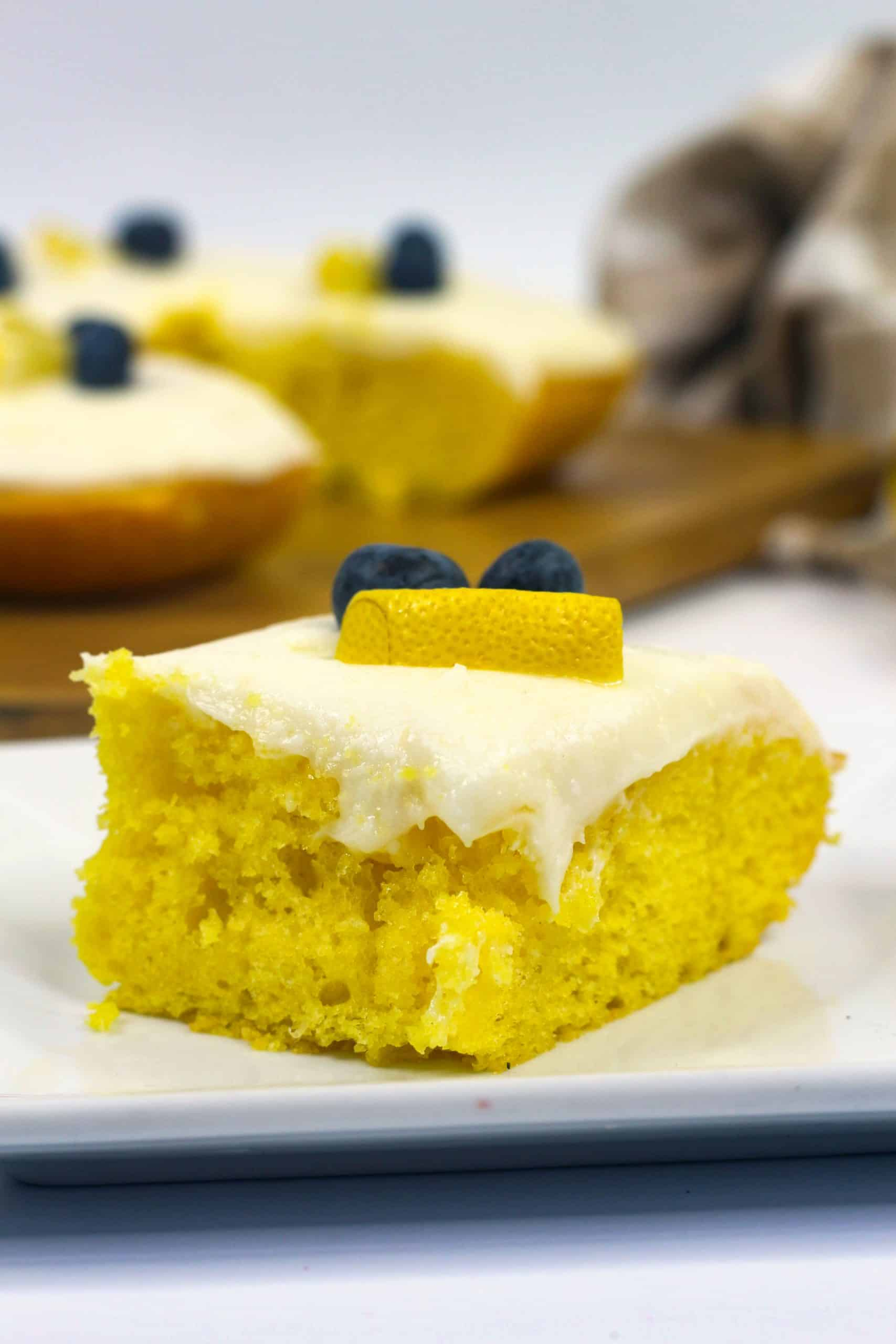 Easy Homemade Lemon Sheet Cake Recipe Sweet Pea S Kitchen