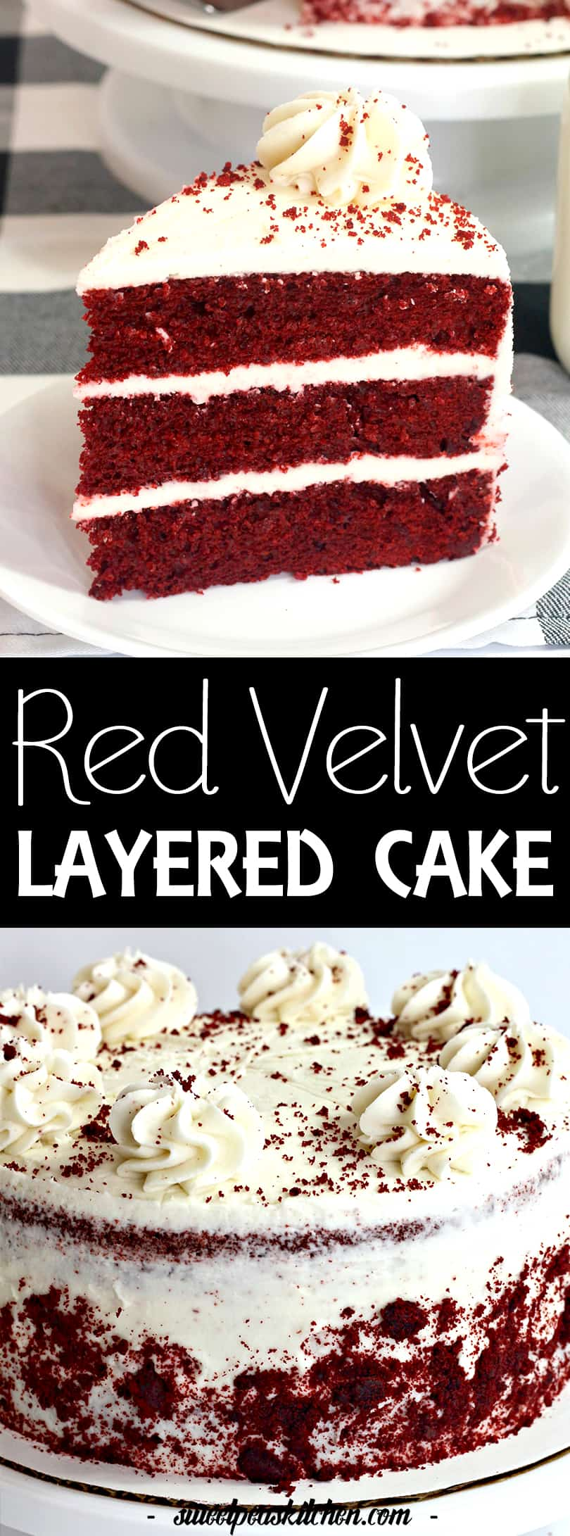 Easy Layered Red Velvet Cake Recipe