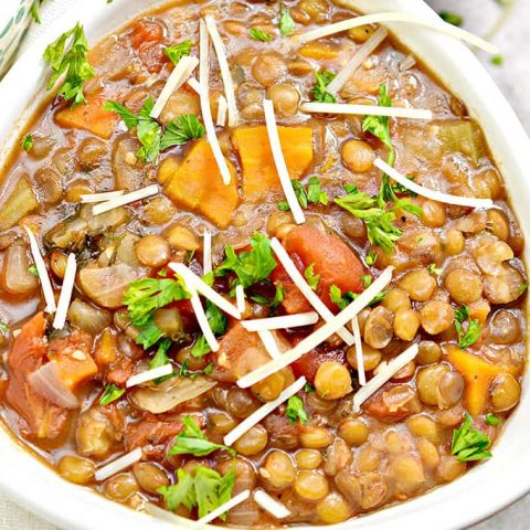 instant pot lentil soup recipe