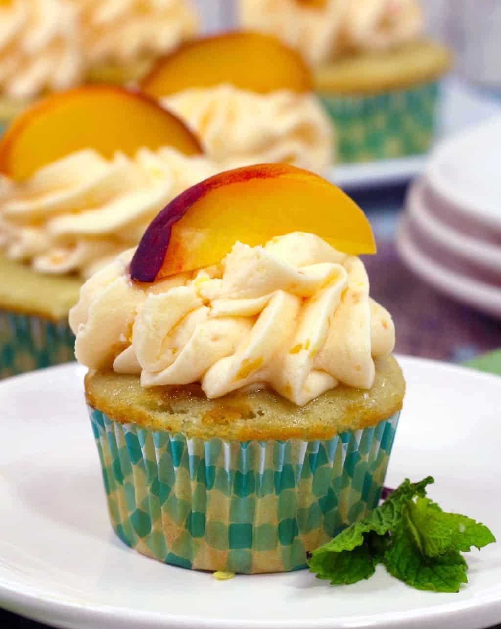 Best Peach Cupcakes Recipe