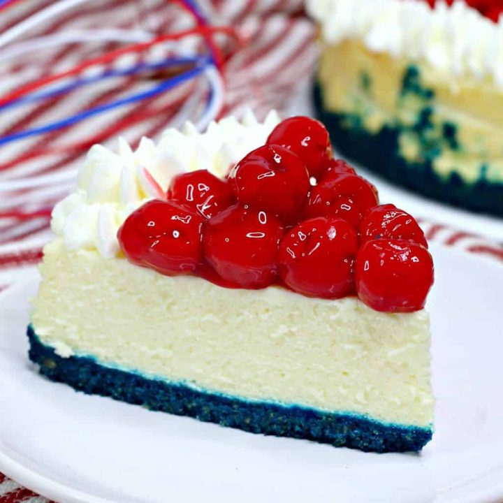Instant Pot Red White And Blue Cheesecake