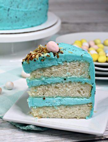 decorated Easter cake, Bird Nest Layered Cake, easy Easter cake