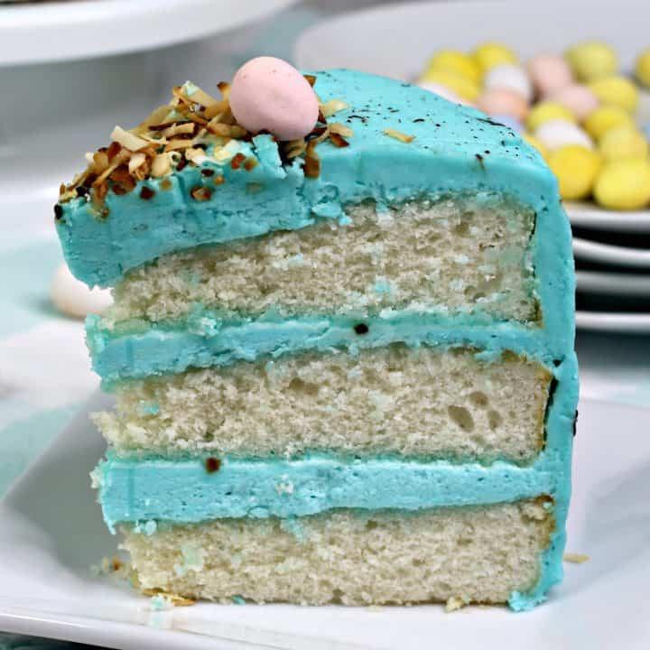 Easter Cake Recipe - Bird Nest Cake