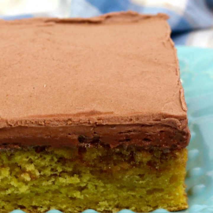 Buttermilk Cake with Chocolate frosting