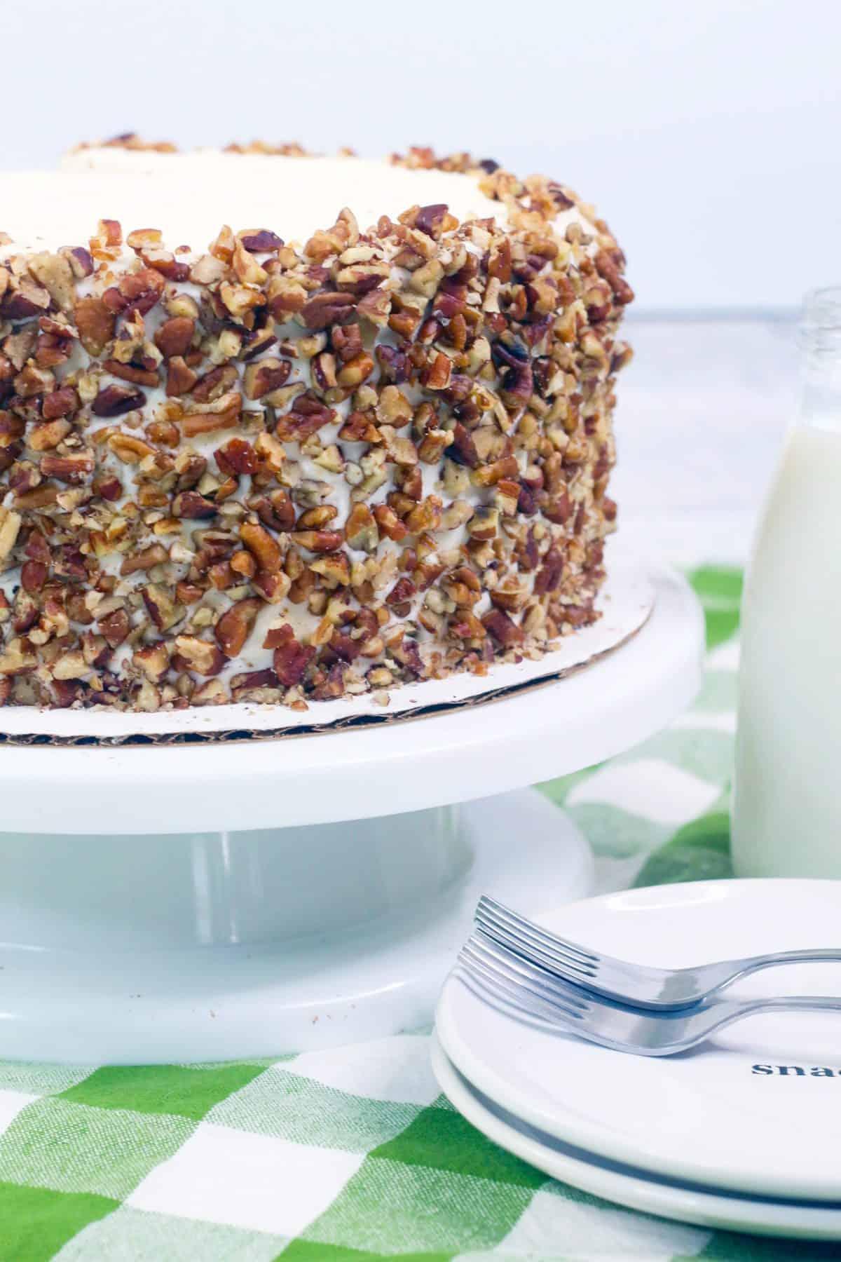 Layered Carrot Cake Recipe, carrot cake