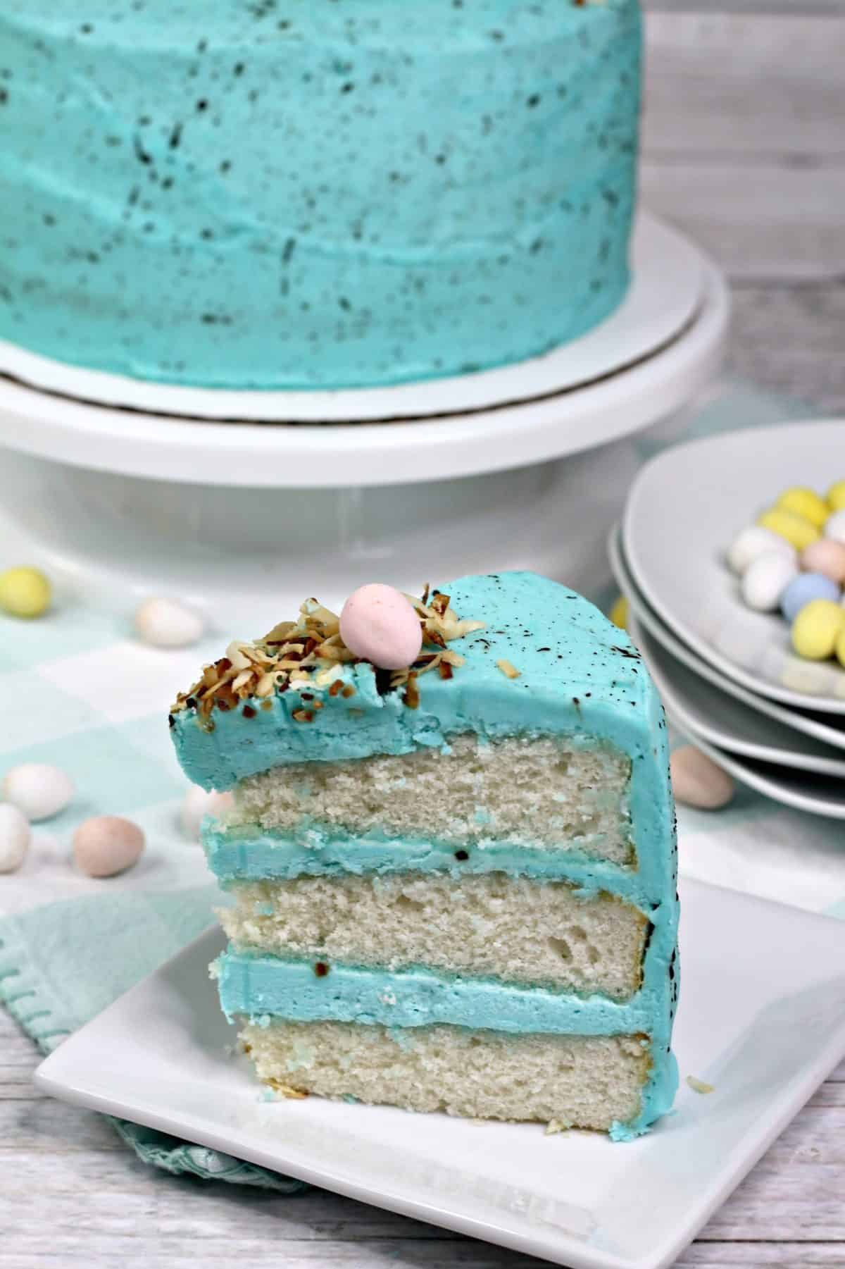 bird nest layered cake