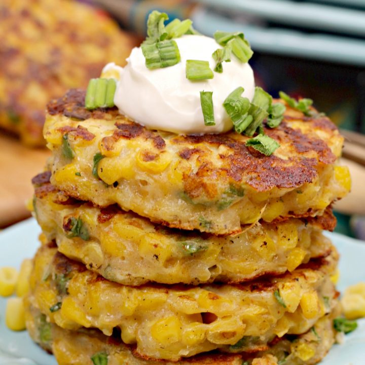 Quick and Easy Pan Fried Corn Fritters Recipe