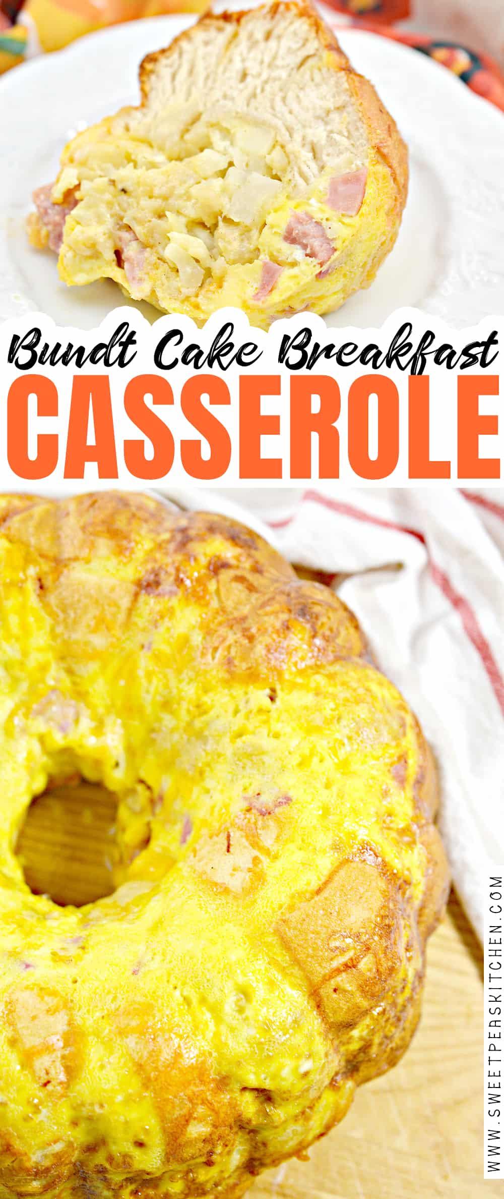 Bundt Cake Breakfast Casserole