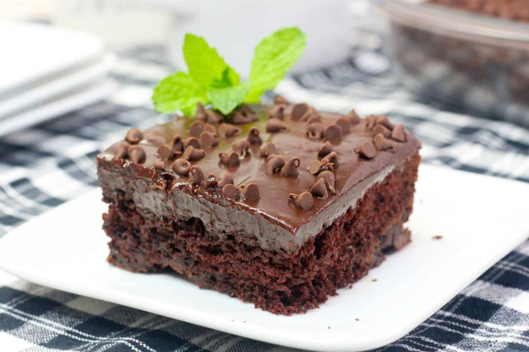 Chocolate Mint Cake, Mint Texas Trash Cake Recipe