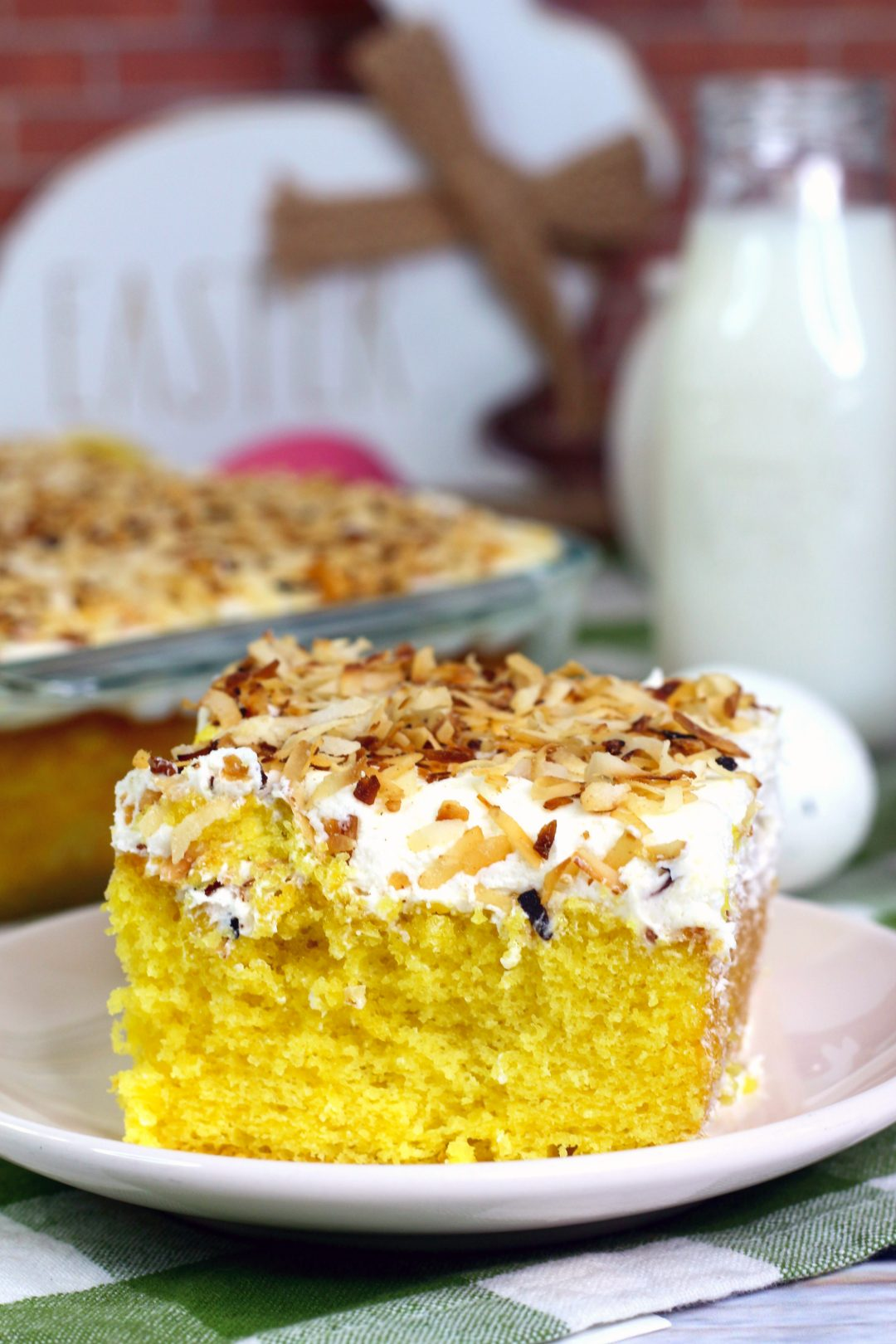 Coconut sheet, coconut cake recipe