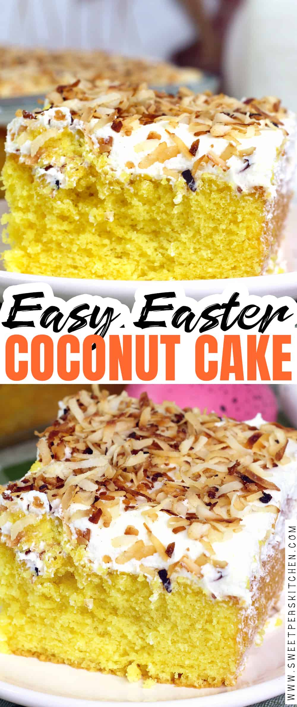 Easy Easter Coconut Cake Recipe