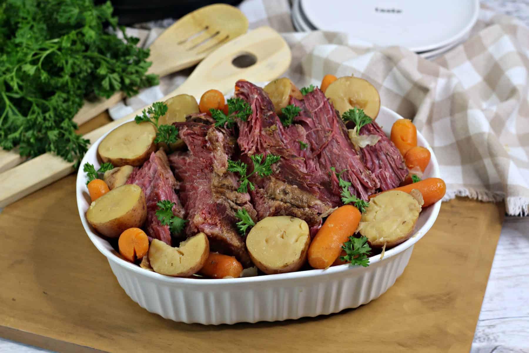 corned beef instant pot, easy corned beef recipe