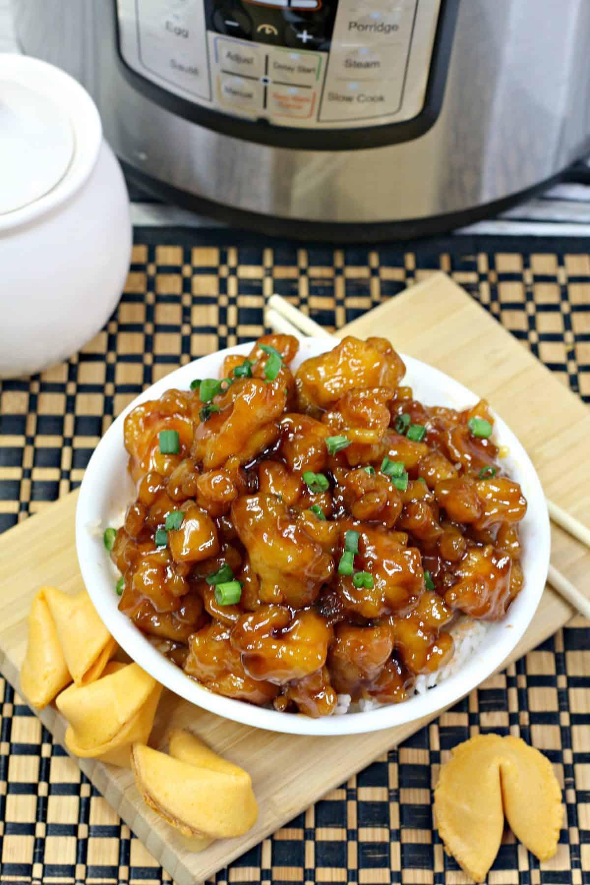 Honey Garlic Chicken, Pressure Cooker Boneless chicken