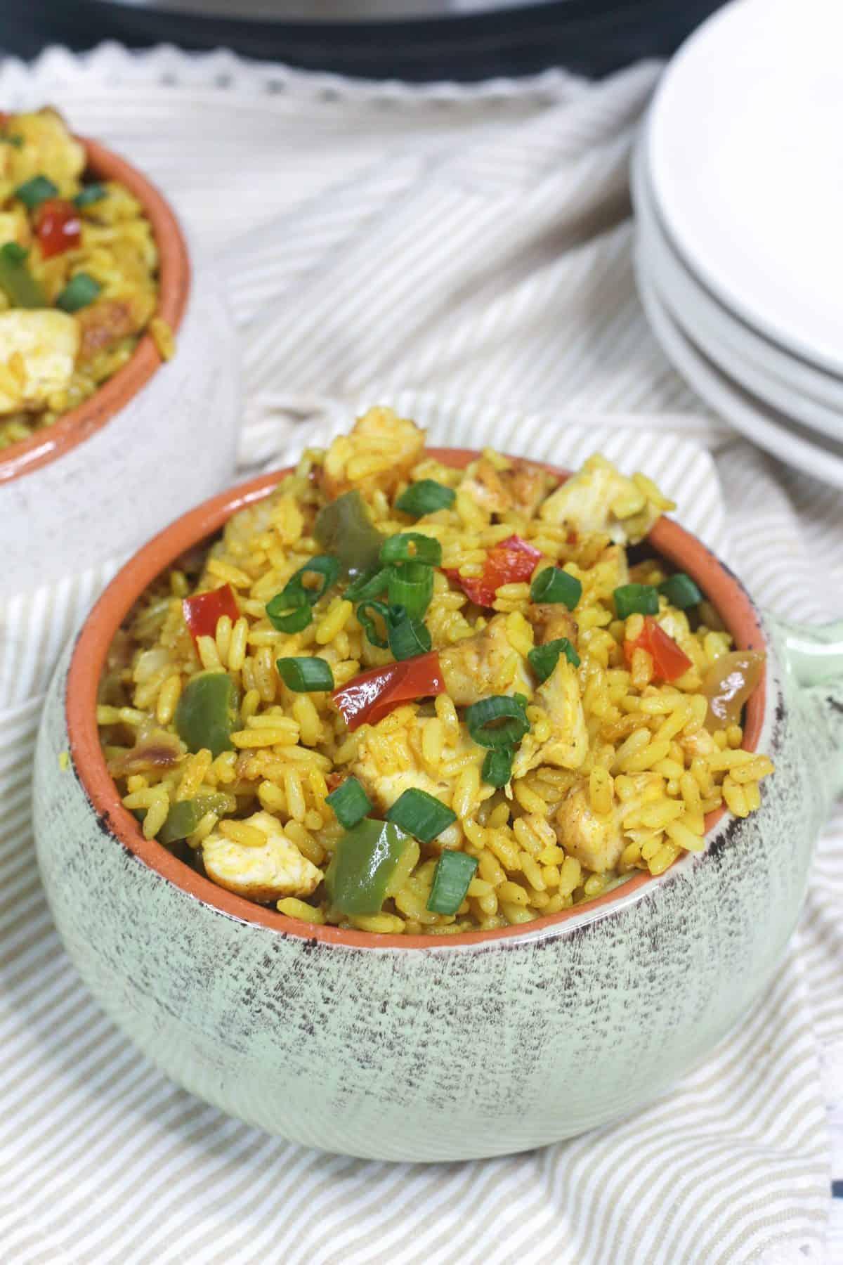 Instant Pot Arroz Con Pollo Recipe, arroz con pollo