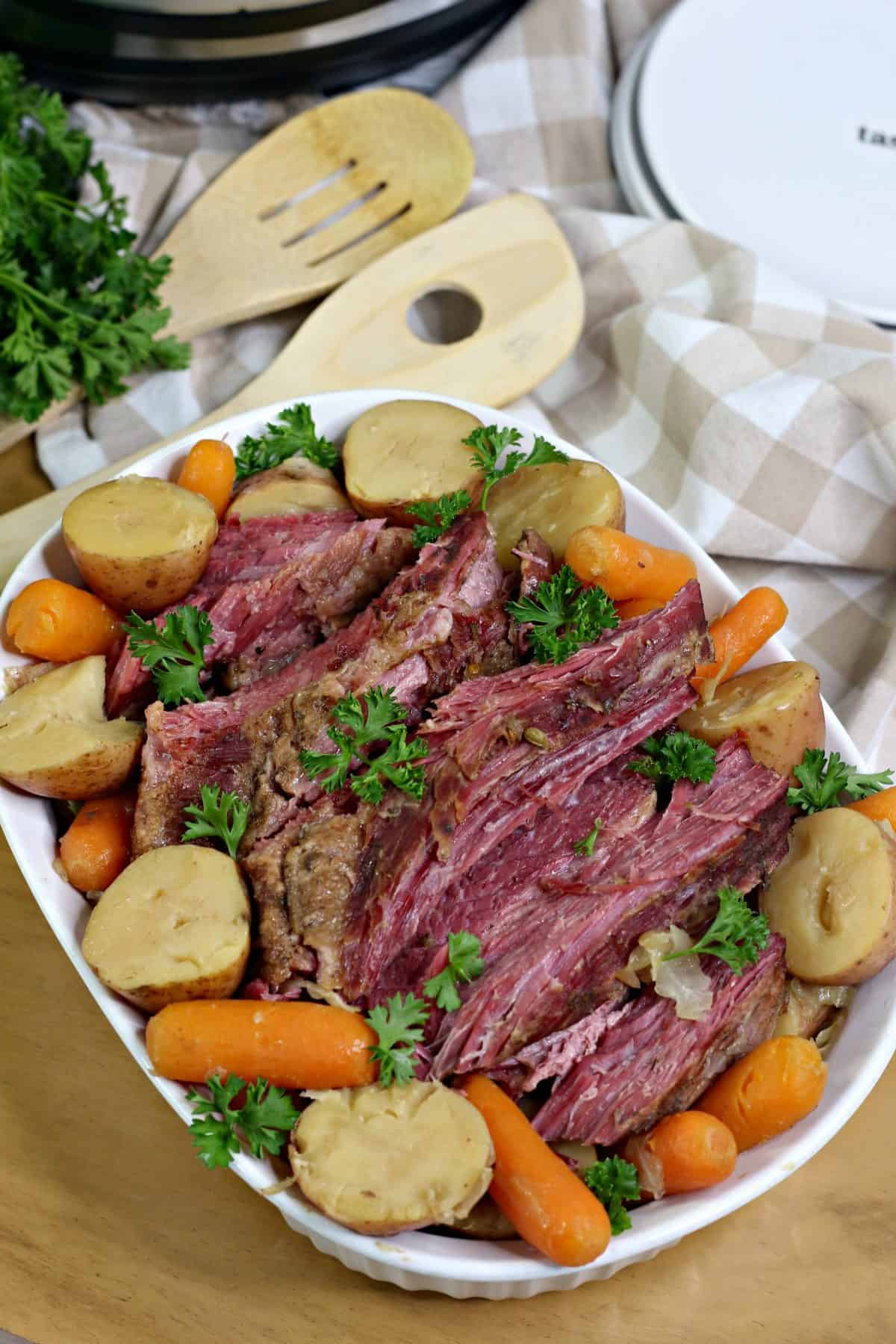 Instant Pot Corned beef and cabbage ,corned beef instant pot