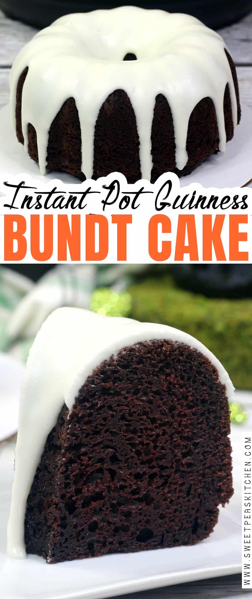 Instant Pot Guinness bundt cake