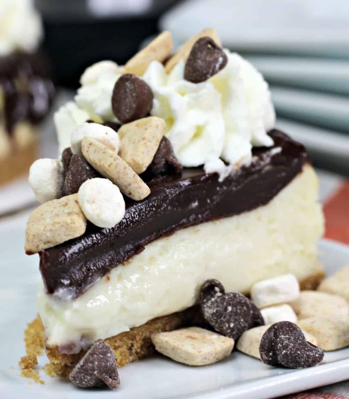 Instant Pot S'more cheesecake