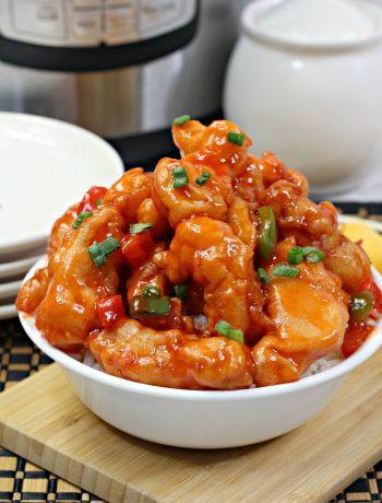 sweet and sour chicken recipe ,instant pot boneless chicken recipe
