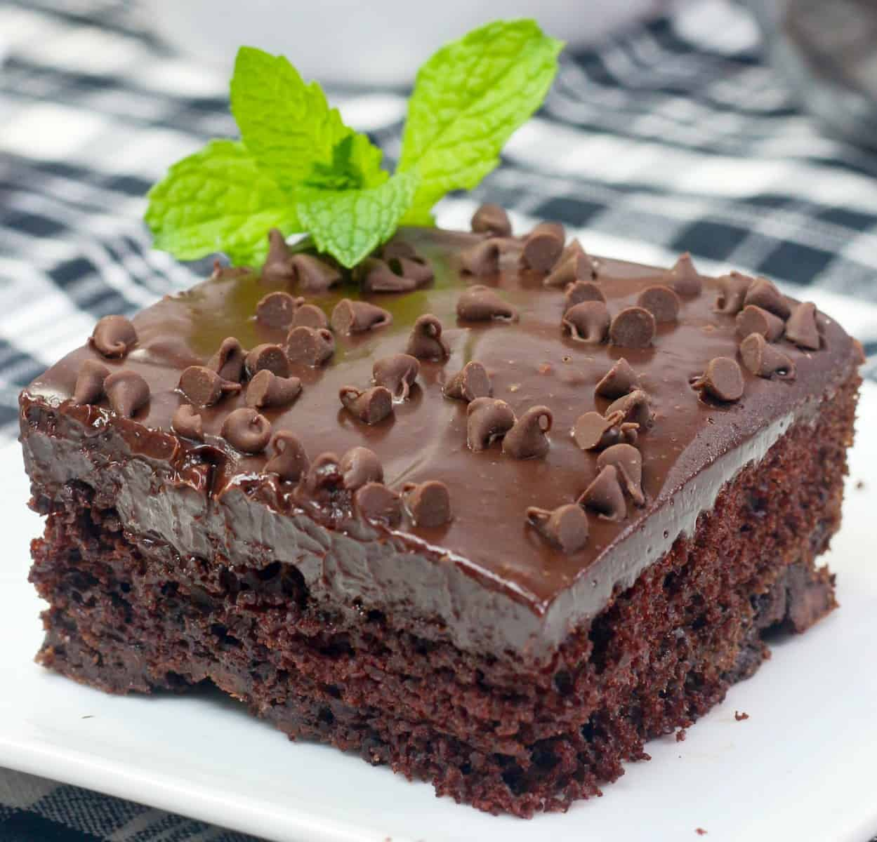 Mint Texas Trash Cake Recipe