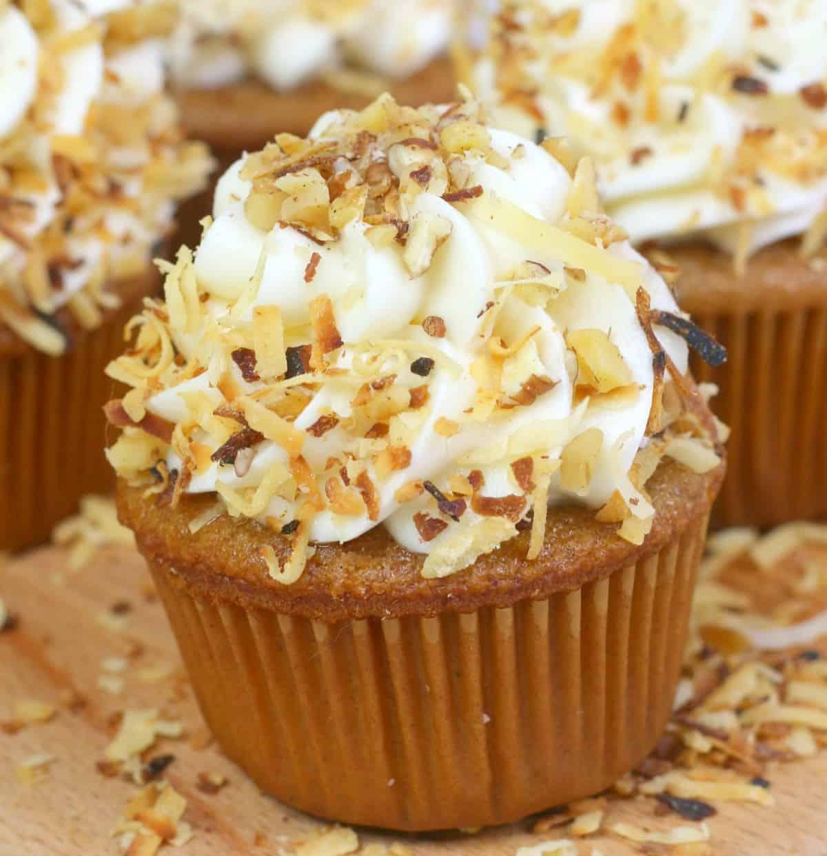 Southern Hummingbird Cupcakes