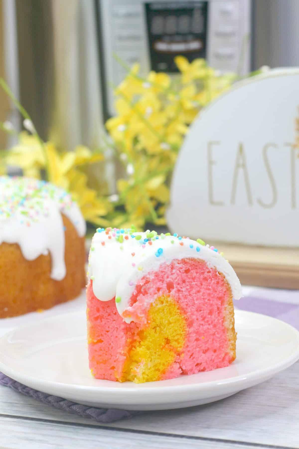 Spring Instant Pot Bundt Cake Recipe, spring bundt cake