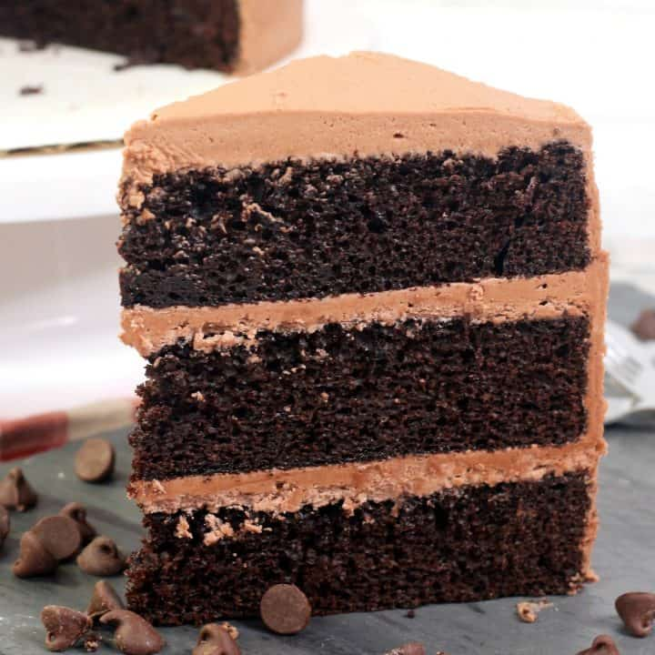 The Best Chocolate Mayonnaise Cake Recipe