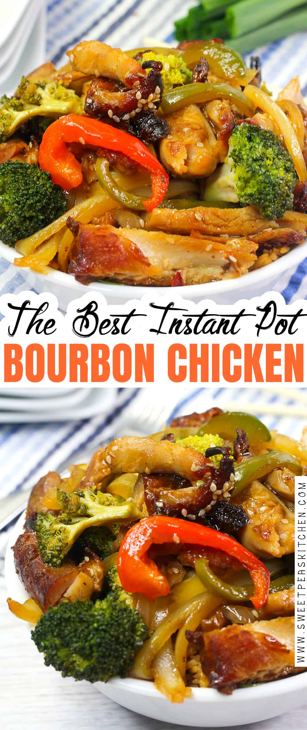 The Best Instant Pot Bourbon Chicken Recipe
