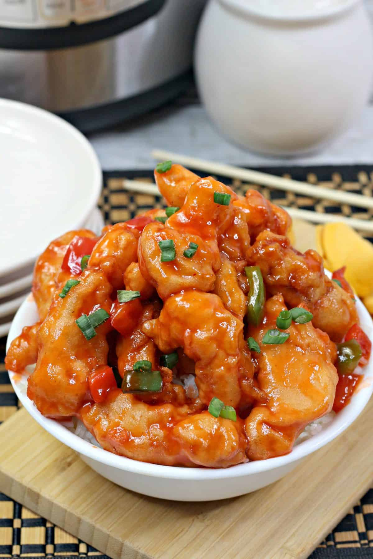 Instant Pot Sweet & Sour Chicken ,sweet and sour chicken instant pot