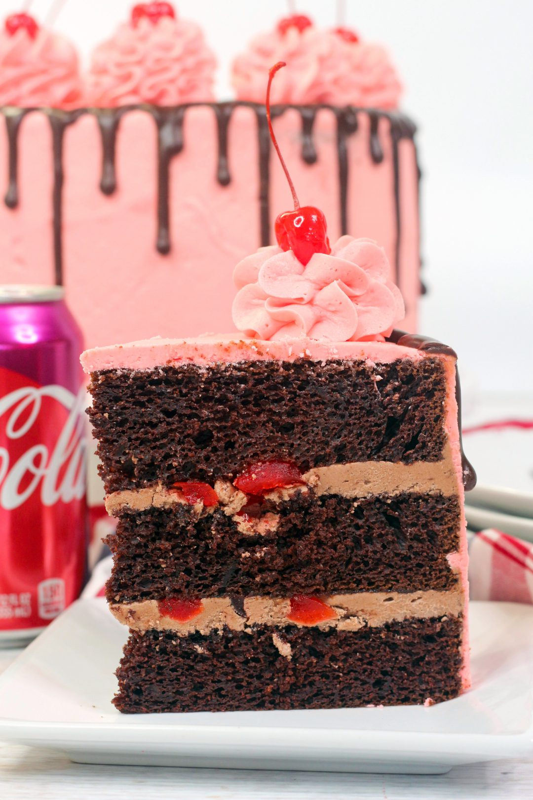 cherry coke cake ,coke cake