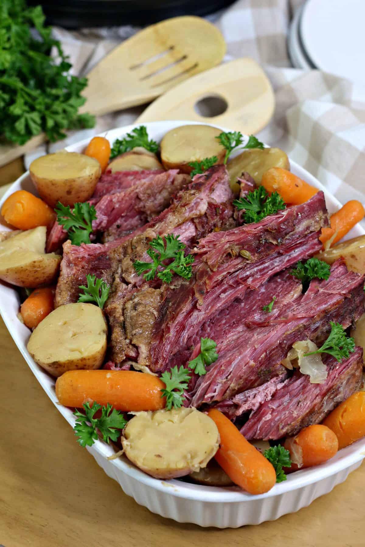 pressure cooker corned beef , easy corned beef recipe