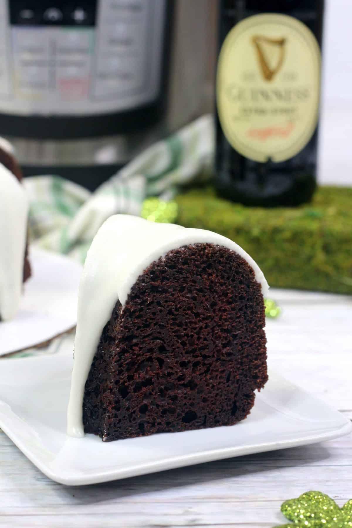 instant pot Guinness cake, instant pot homemade cake