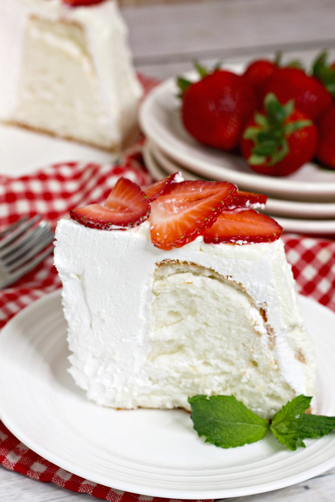 instant pot angel food cake, angel food cake