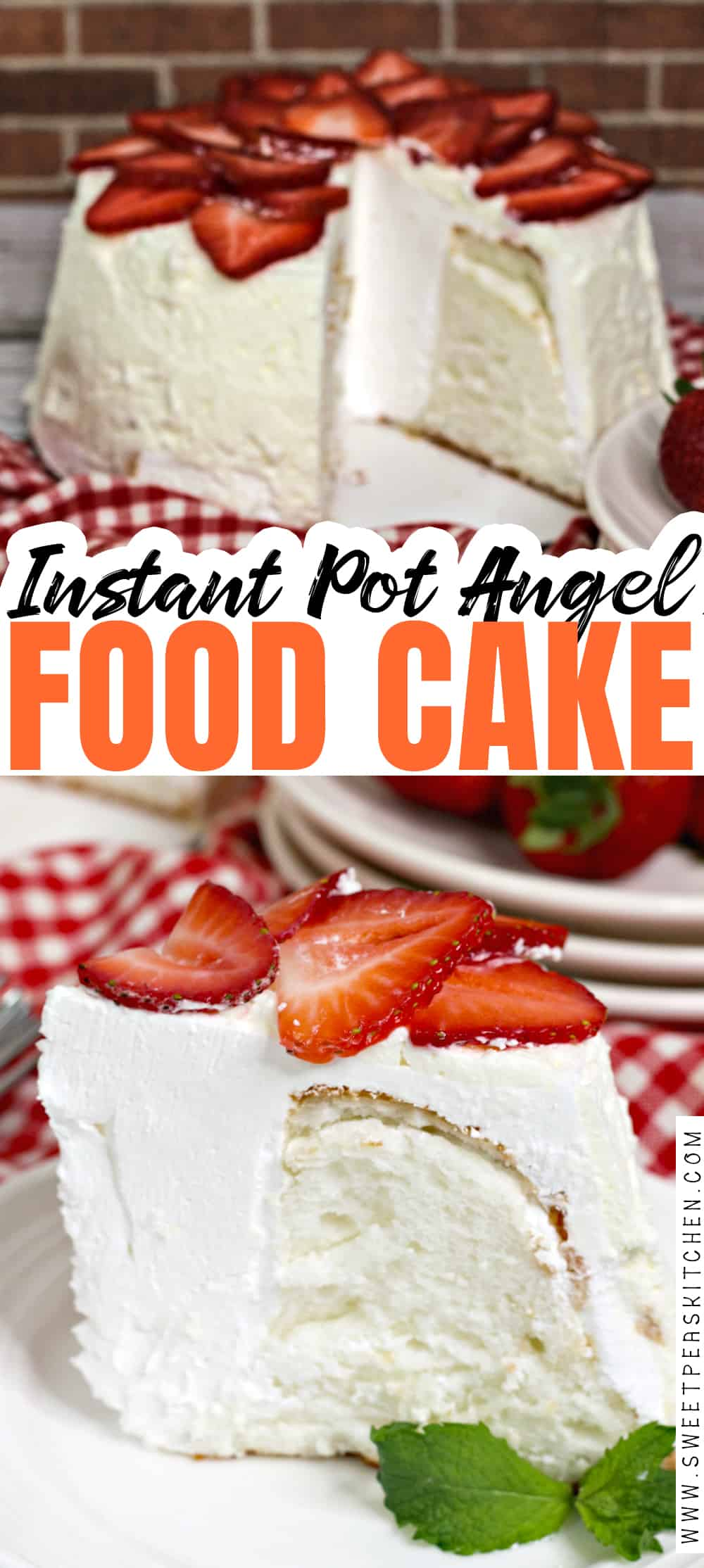 Instant Pot Angel Food Cake