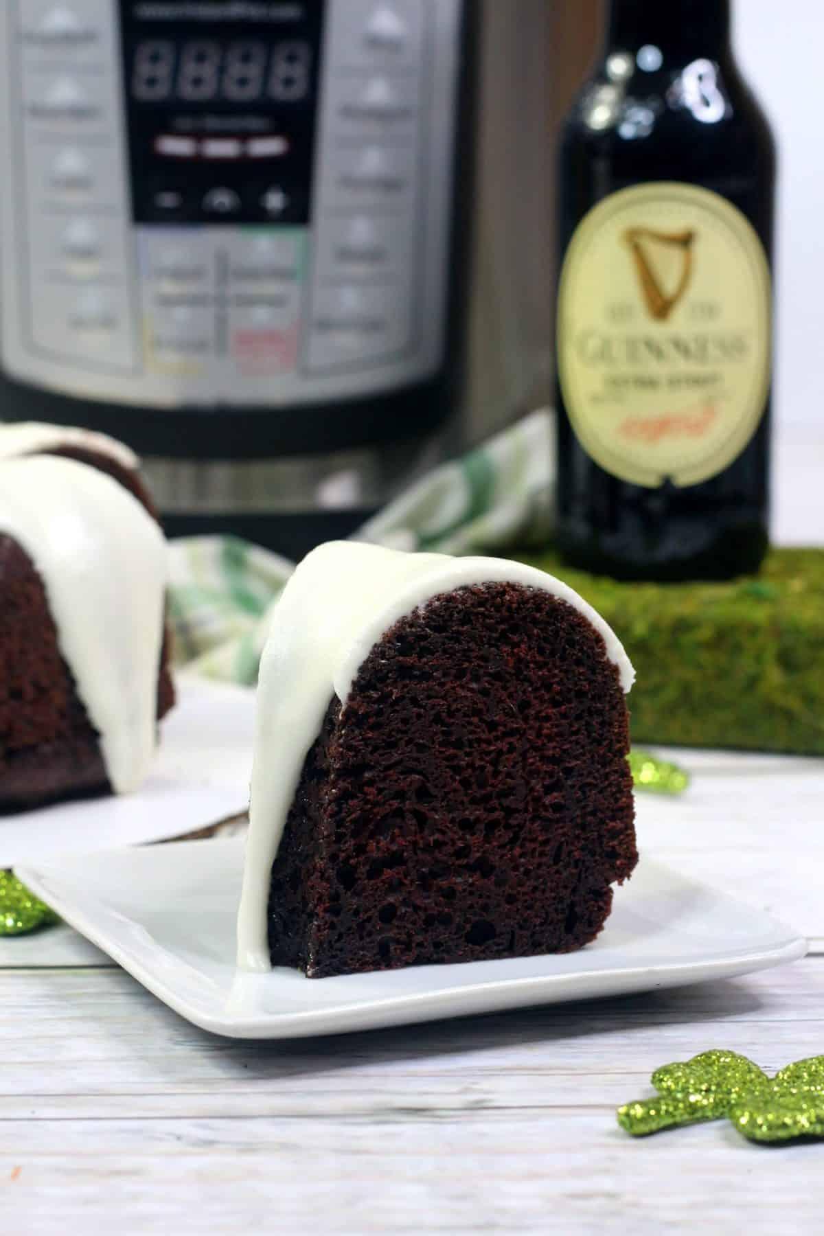 instant pot homemade cake, Guinness cake recipe