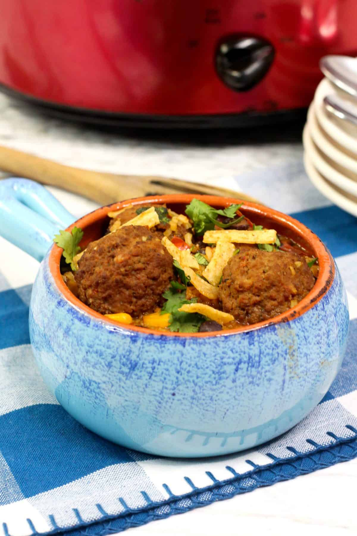 easy meatball soup ,simple mexican meatball soup