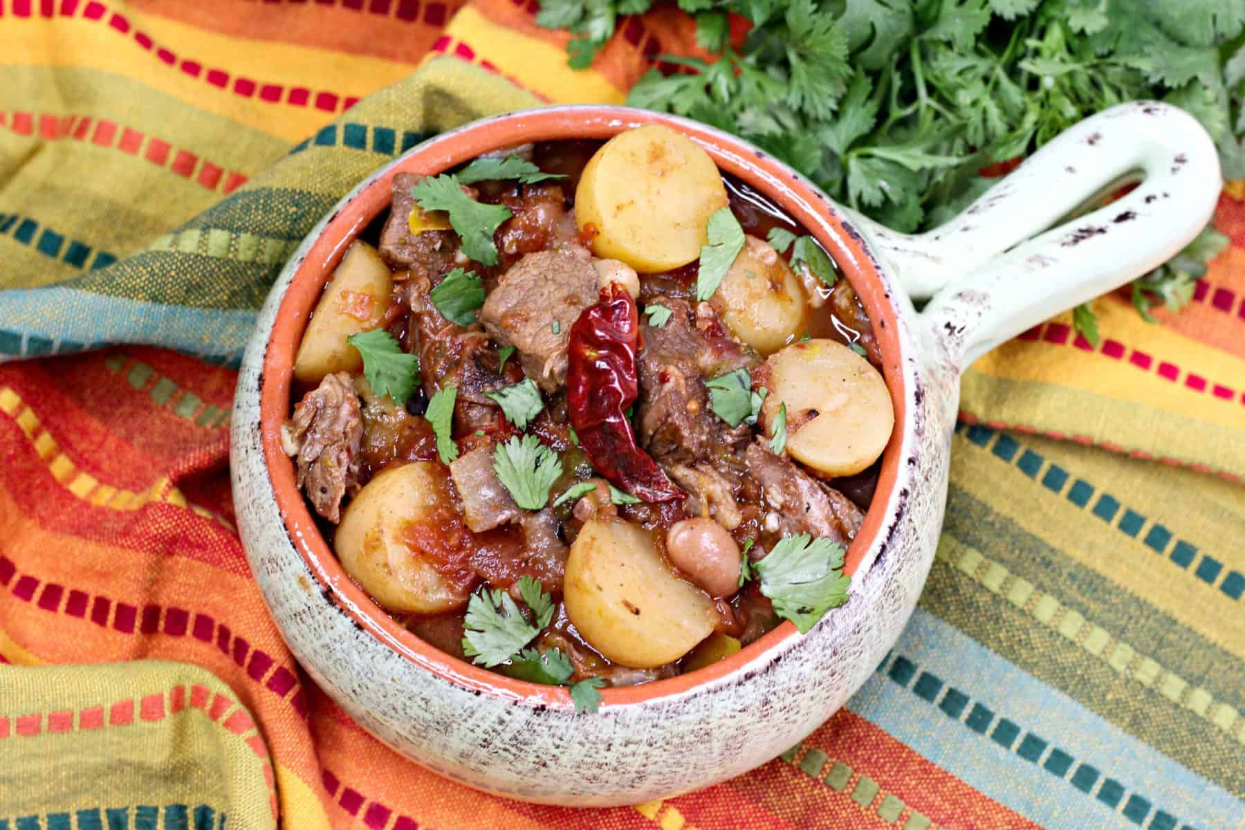 pressure cooker Mexican beef stew, Mexican Beef Stew