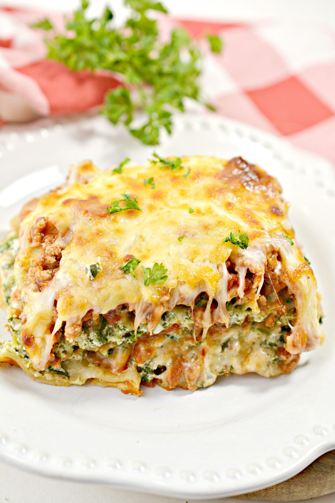 4 Cheese Beef Lasagna