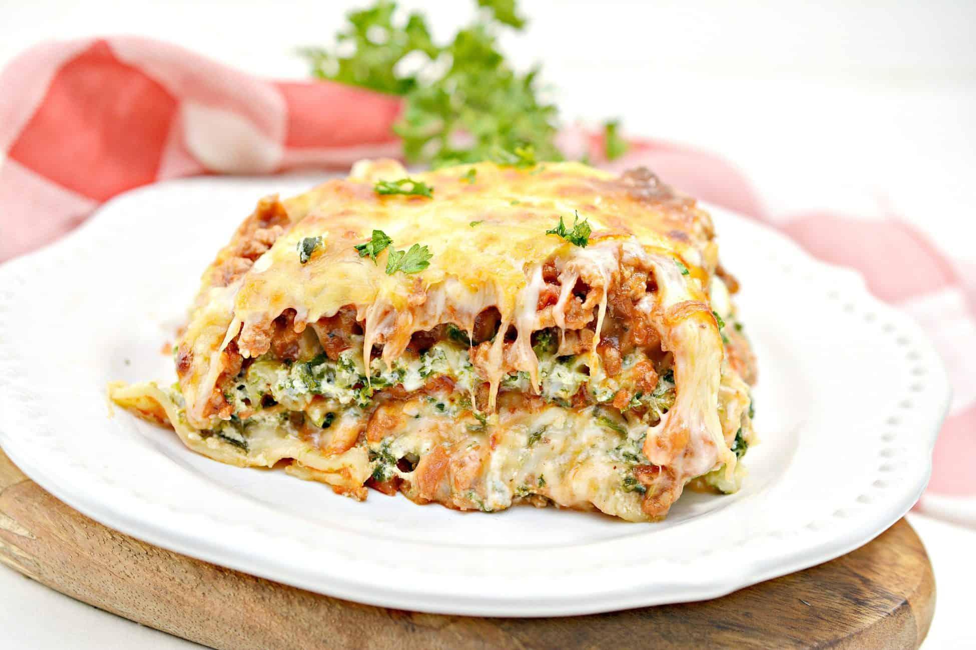 4 Cheese Beef Lasagna