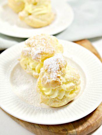 Delicious Famous Cream Puffs