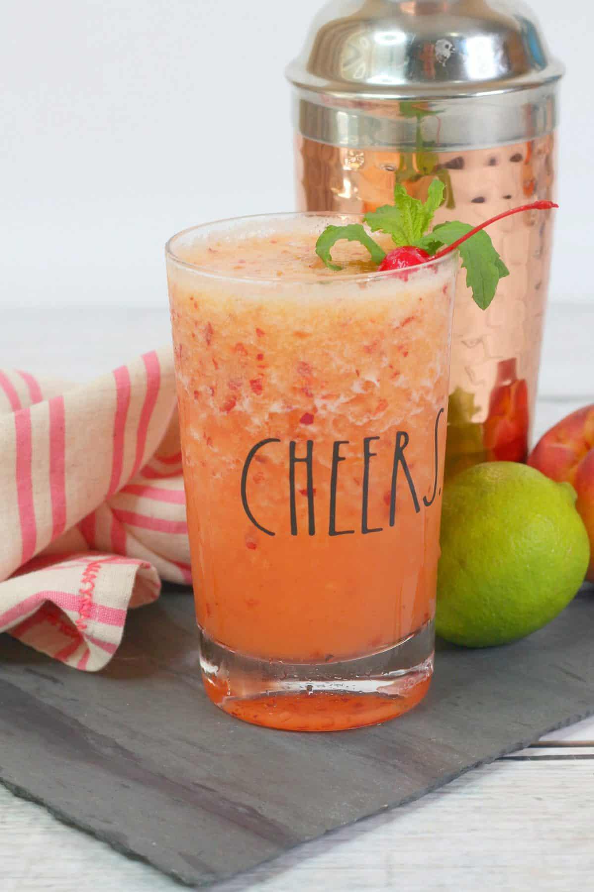 Frozen Peach Margarita, Peach Margarita