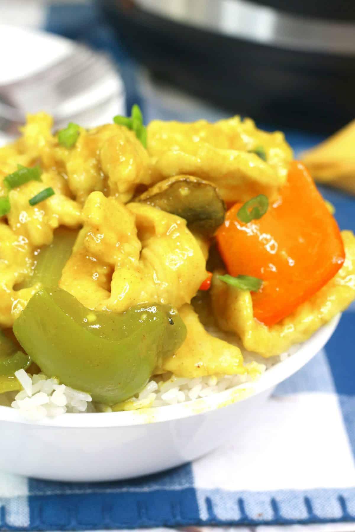 Instant Pot Chicken Curry, Chicken Curry