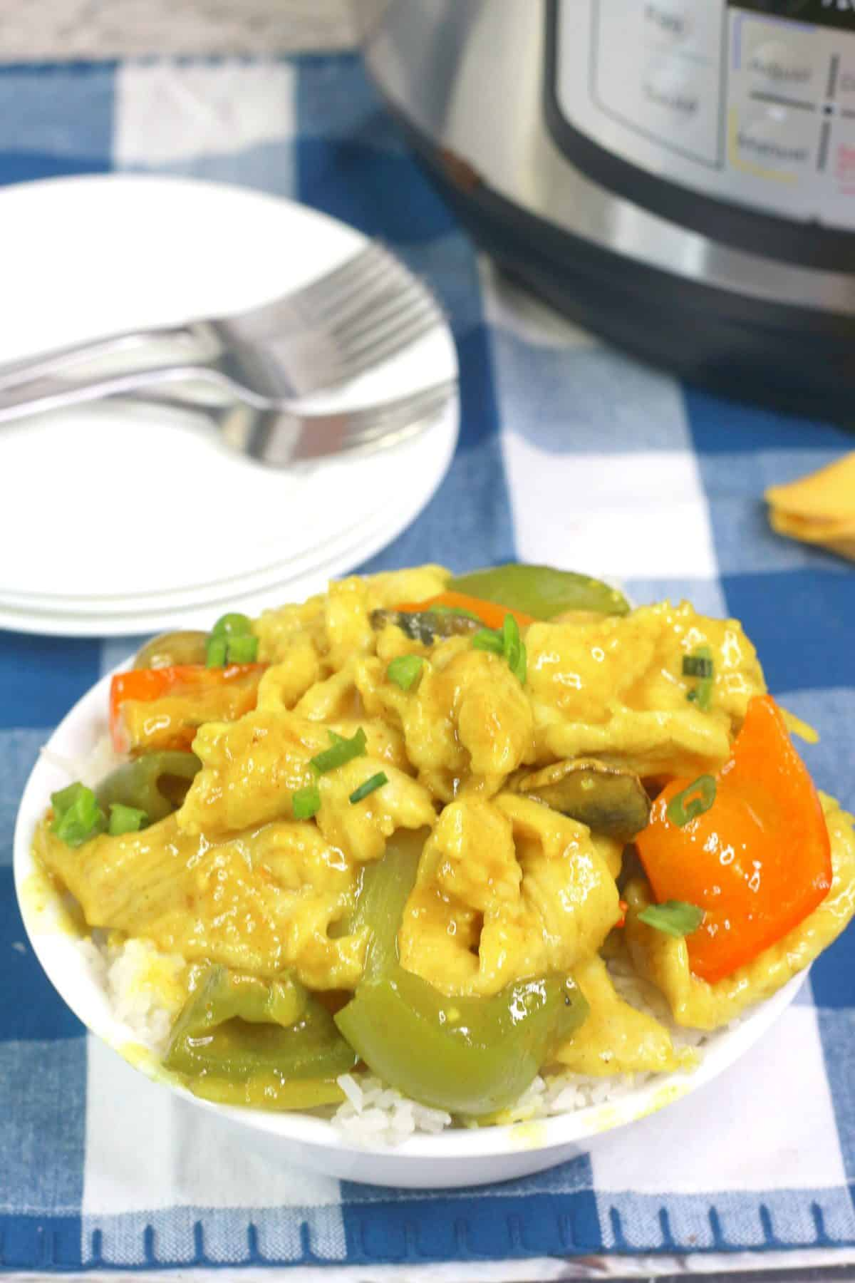Instant Pot Curry, easy curry recipe