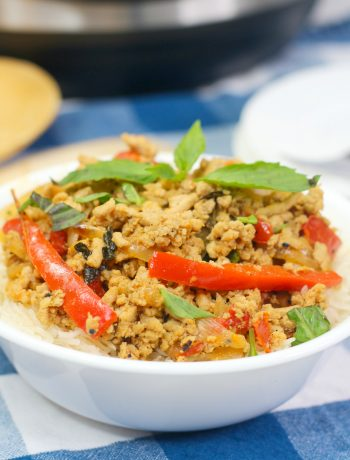 Instant Pot Ground CHicken Recipe, Instant Pot Chicken Stir Fry