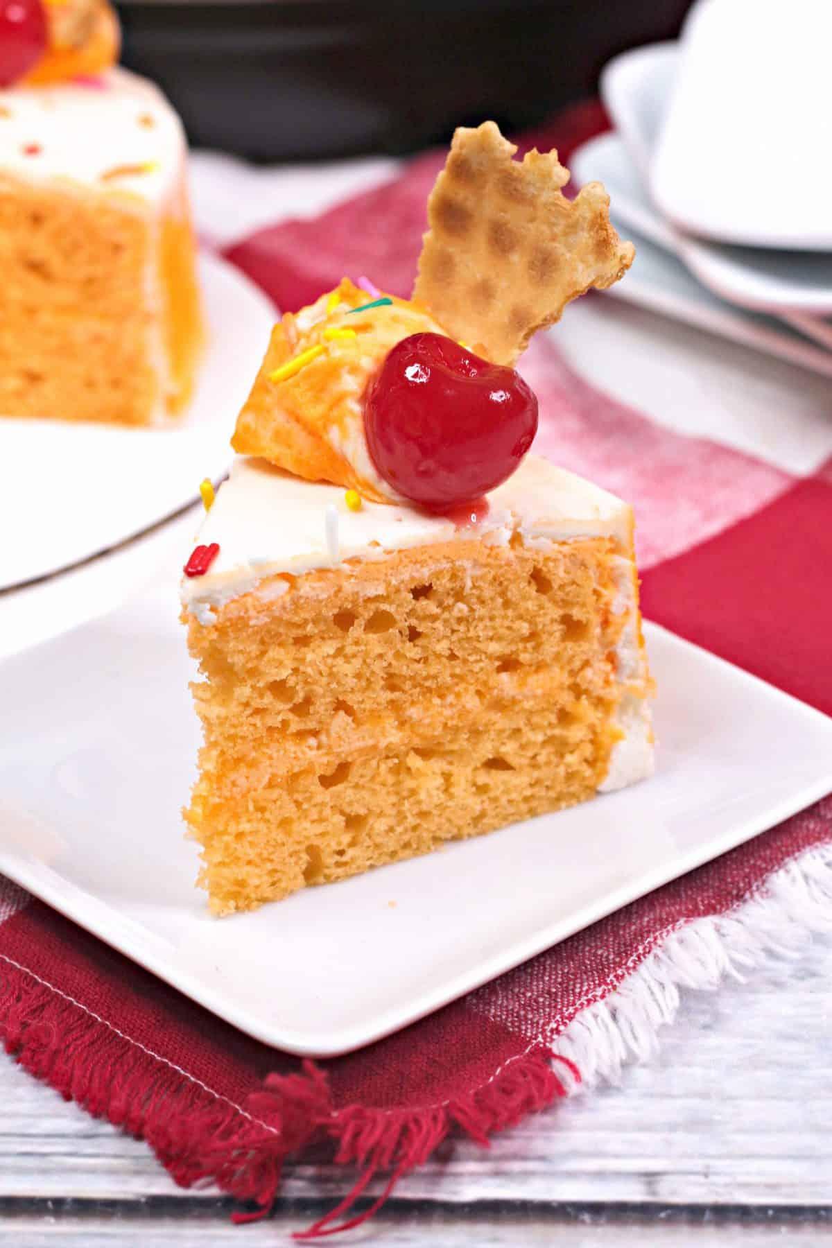 Instant pot cake, Instant pot orange cake