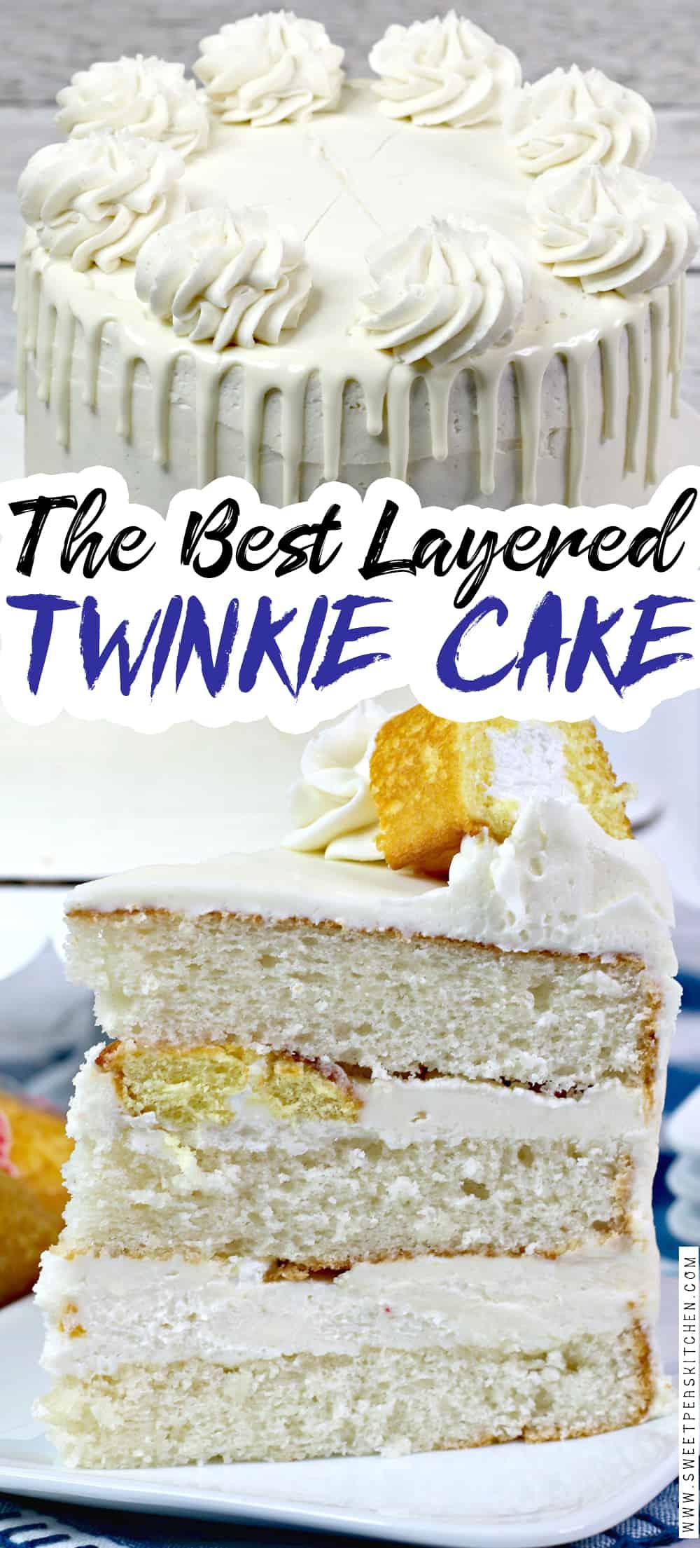 Twinkie Layered Cake