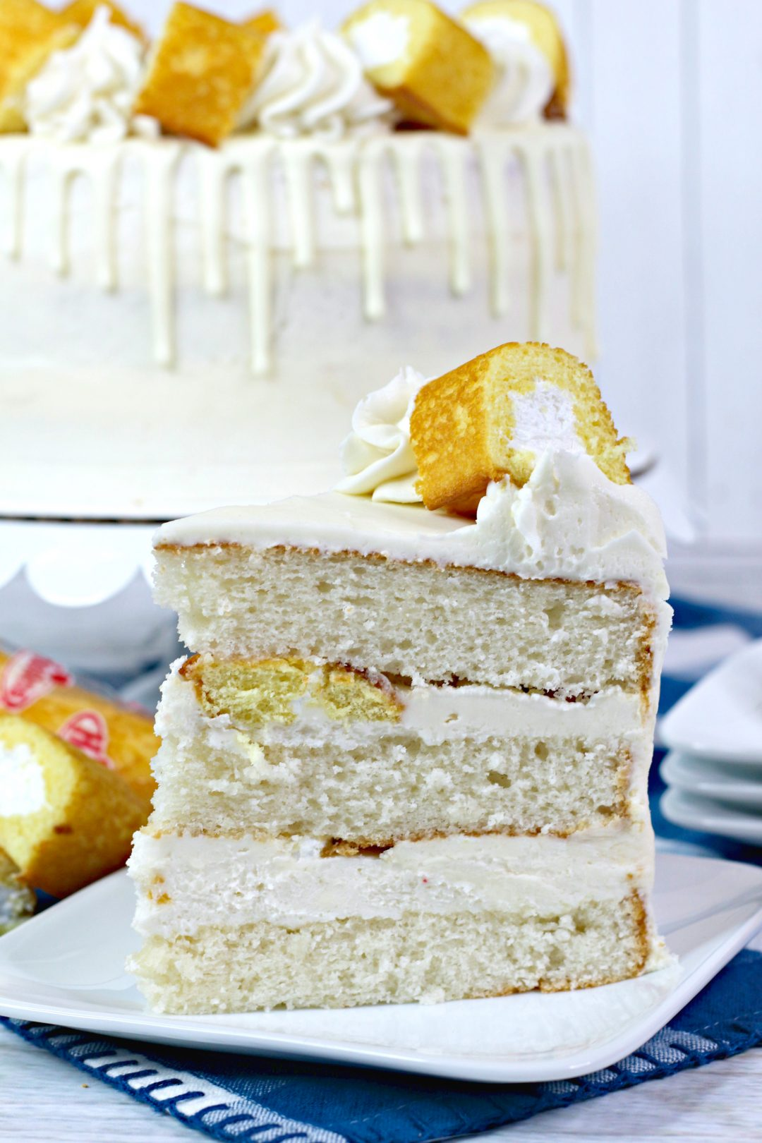 Layered Twinkie cake, twinkie dessert